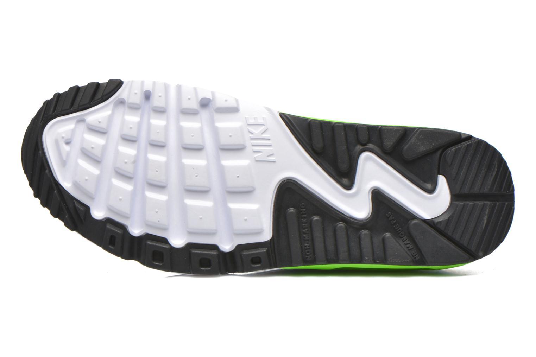 Nike Air Max 90 Print Mesh Gs Pht Bl Elctrc Grn-Wht-Pnk Blst