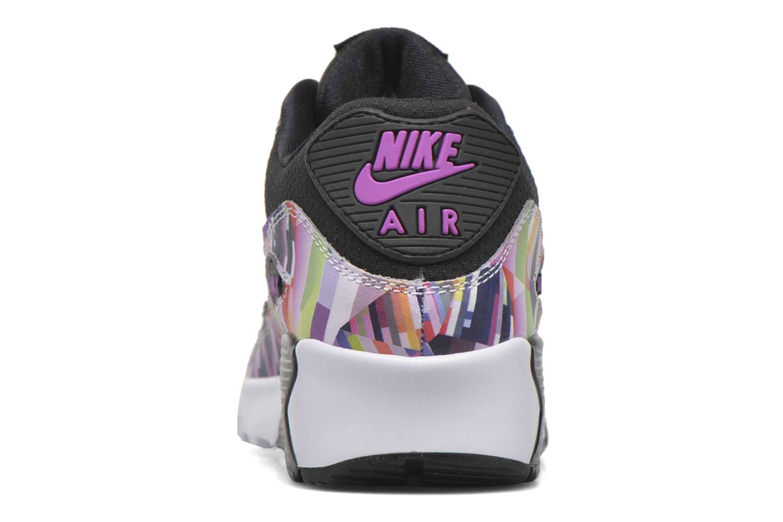 Deportivas Nike Nike Air Max 90 Print Mesh Gs Negro vista lateral derecha