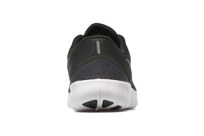 Nike Free Rn (Gs) Black Metallic Silver-Anthrct