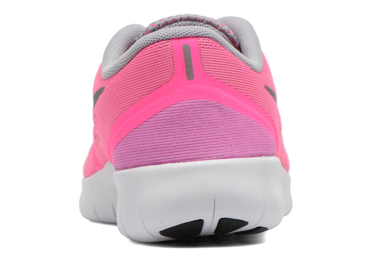 Sneaker Nike Nike Free Rn (Gs) rosa ansicht von rechts