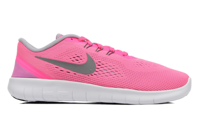Sneaker Nike Nike Free Rn (Gs) rosa ansicht von hinten
