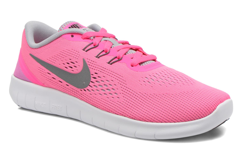 Sneaker Nike Nike Free Rn (Gs) rosa detaillierte ansicht/modell