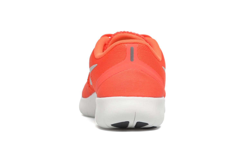 Baskets Nike Nike Free Rn (Gs) Orange vue droite