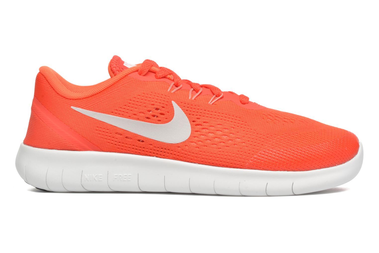 Baskets Nike Nike Free Rn (Gs) Orange vue derrière