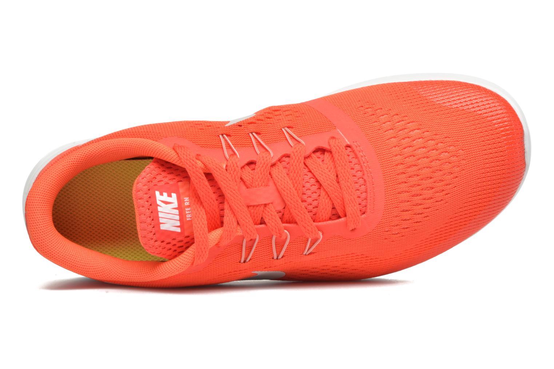 Baskets Nike Nike Free Rn (Gs) Orange vue gauche