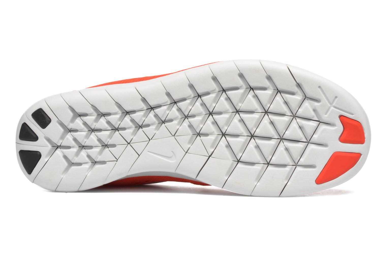 Baskets Nike Nike Free Rn (Gs) Orange vue haut