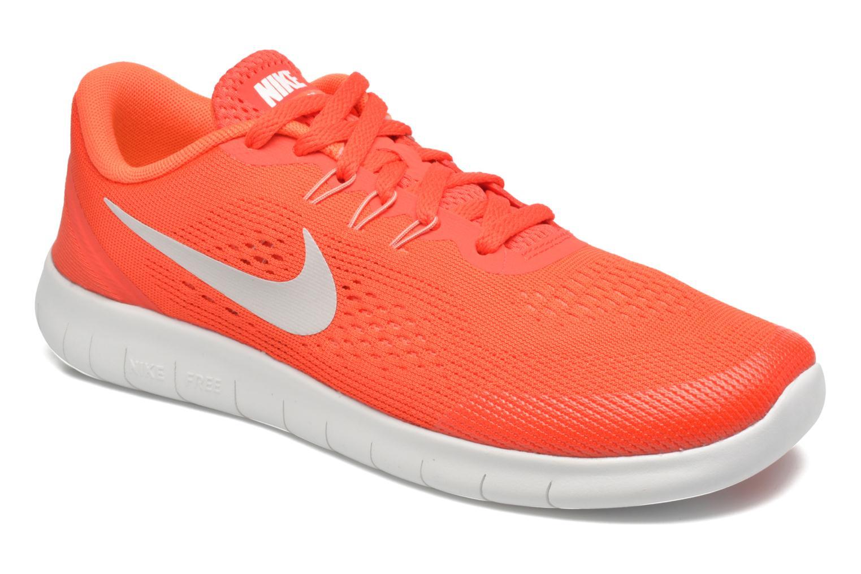 Baskets Nike Nike Free Rn (Gs) Orange vue détail/paire