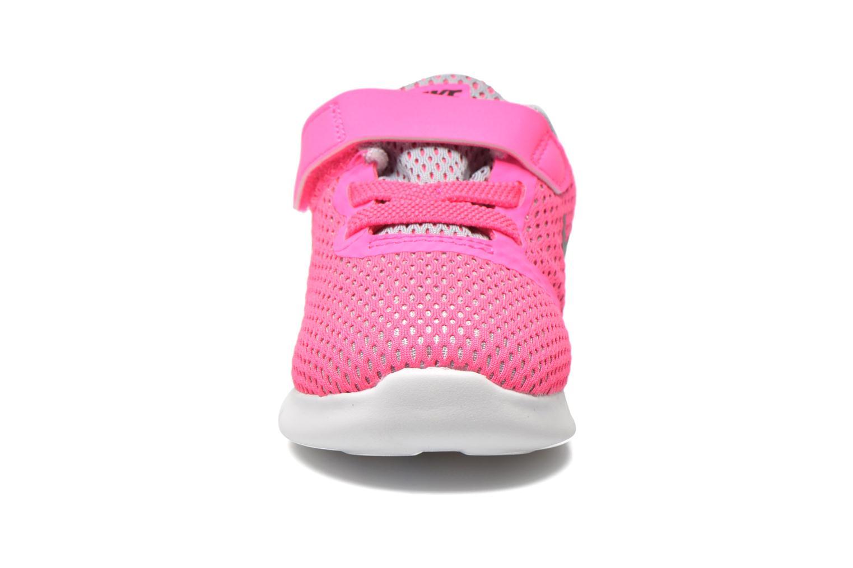 Nike Free Rn (Tdv) Pnk Blast Mtllc Slvr-White-Blk