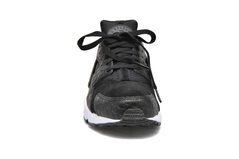Sneaker Nike Nike Air Huarache Run Prm schwarz schuhe getragen