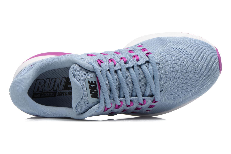 Sportschuhe Nike Wmns Nike Air Zoom Vomero 11 blau ansicht von links