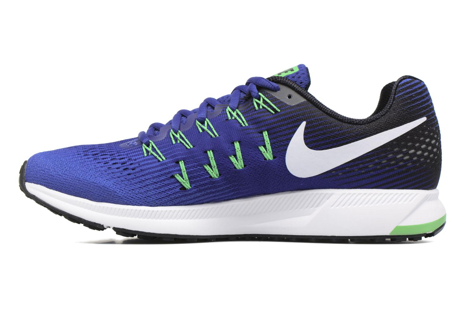 Sport shoes Nike Nike Air Zoom Pegasus 33 Blue front view