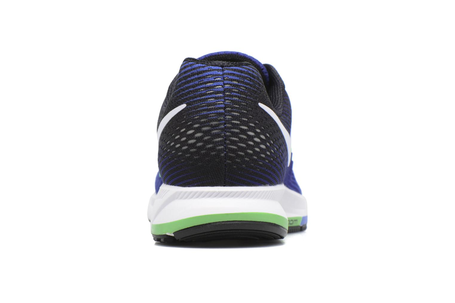 Sport shoes Nike Nike Air Zoom Pegasus 33 Blue view from the right