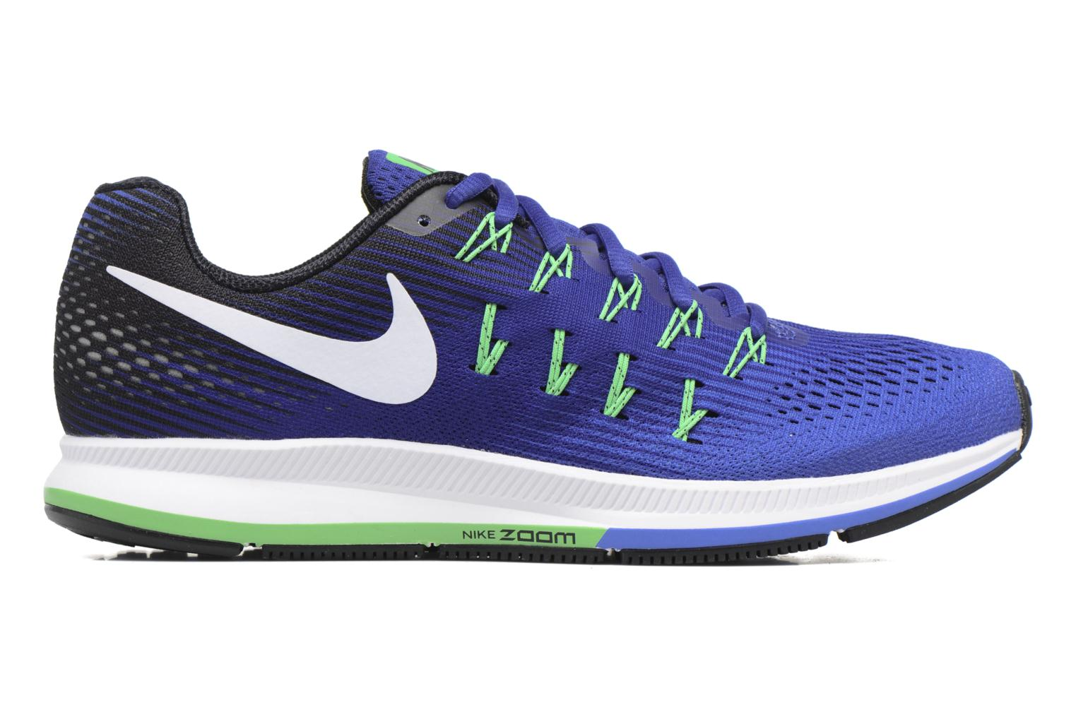 Sport shoes Nike Nike Air Zoom Pegasus 33 Blue back view