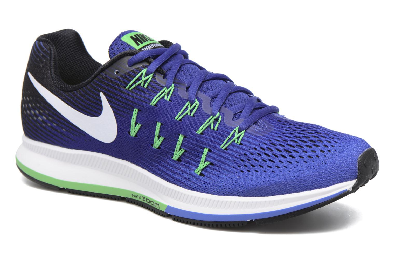 Nike Air Zoom Pegasus 33 Medium Blue/White-Deep Night-Black