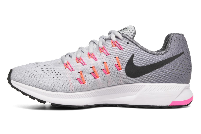 Sportschuhe Nike Wmns Nike Air Zoom Pegasus 33 grau ansicht von vorne