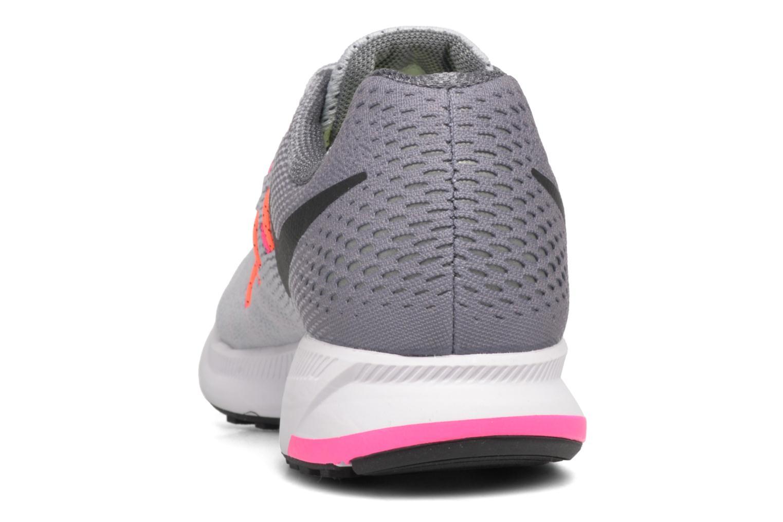 Sportschuhe Nike Wmns Nike Air Zoom Pegasus 33 grau ansicht von rechts