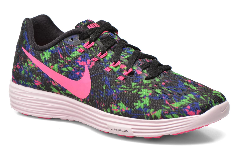 Wmns Nike Lunartempo 2 Print Blk/Pnk Blst-Cncrd-Elctrc Grn