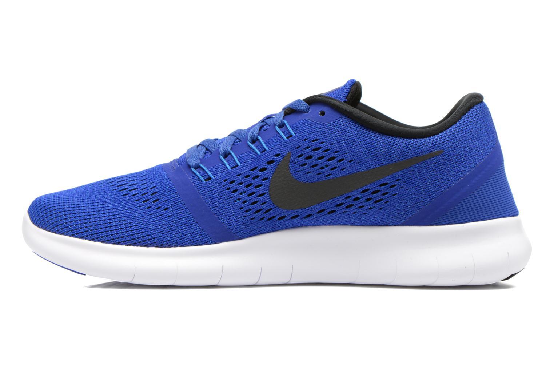Chaussures de sport Nike Nike Free Rn Blanc vue face
