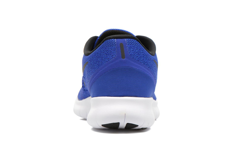 Chaussures de sport Nike Nike Free Rn Blanc vue droite