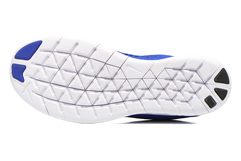 Chaussures de sport Nike Nike Free Rn Blanc vue haut