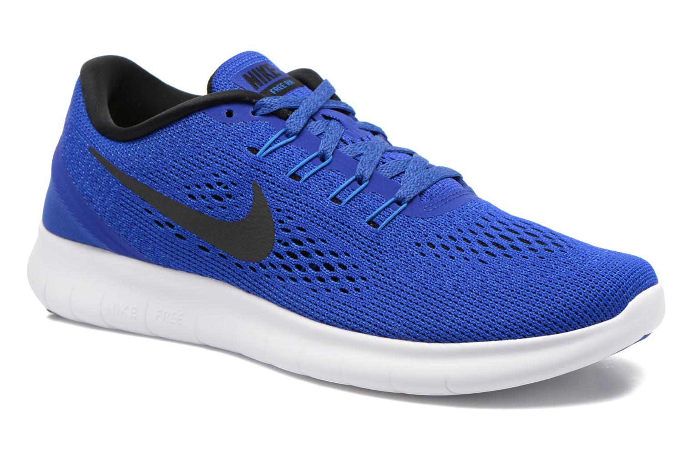 Chaussures de sport Nike Nike Free Rn Blanc vue détail/paire