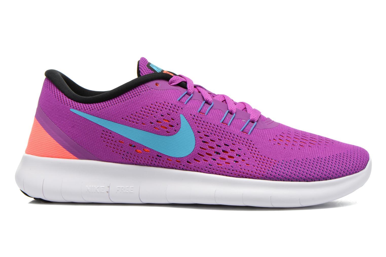 Sportschuhe Nike Wmns Nike Free Rn lila ansicht von hinten