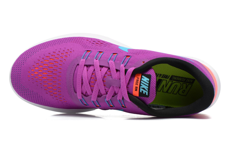 Sportschuhe Nike Wmns Nike Free Rn lila ansicht von links