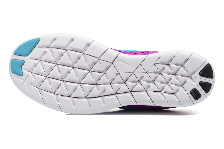 Sportschuhe Nike Wmns Nike Free Rn lila ansicht von oben