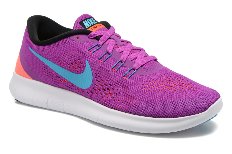 Sportschuhe Nike Wmns Nike Free Rn lila detaillierte ansicht/modell