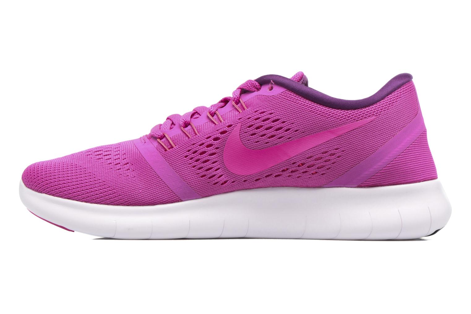 Chaussures de sport Nike Wmns Nike Free Rn Rose vue face
