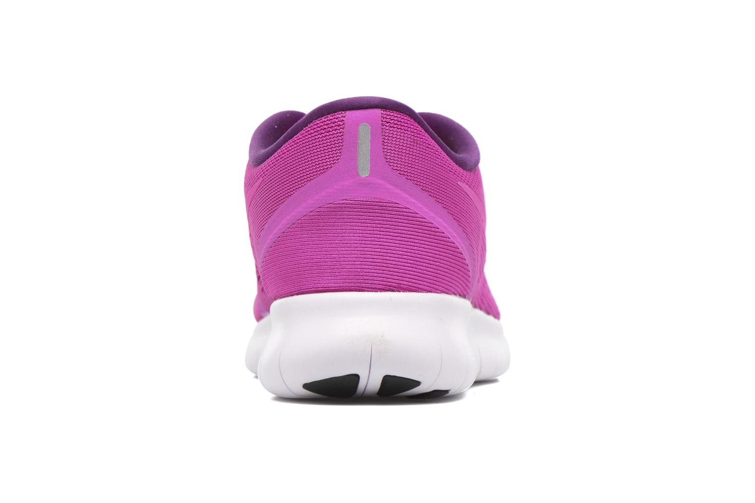 Chaussures de sport Nike Wmns Nike Free Rn Rose vue droite