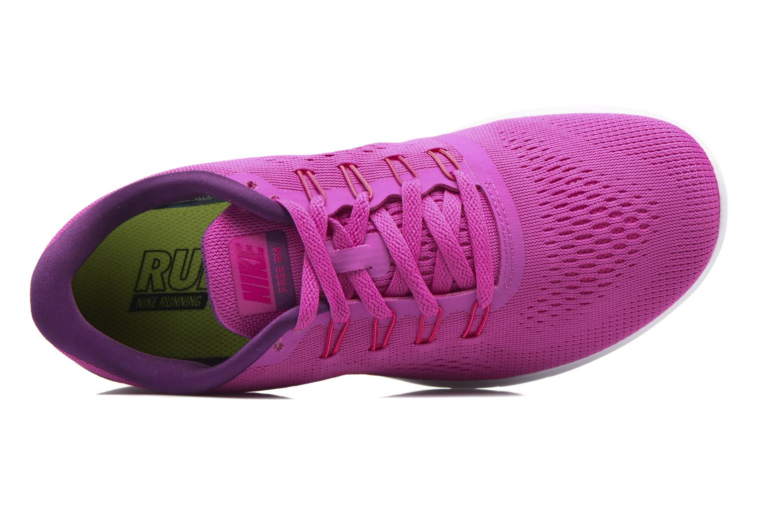 Sport shoes Nike Wmns Nike Free Rn Pink view from the left