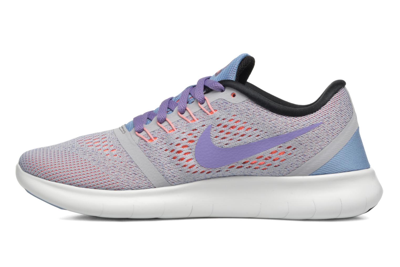 Sportschuhe Nike Wmns Nike Free Rn grau ansicht von vorne