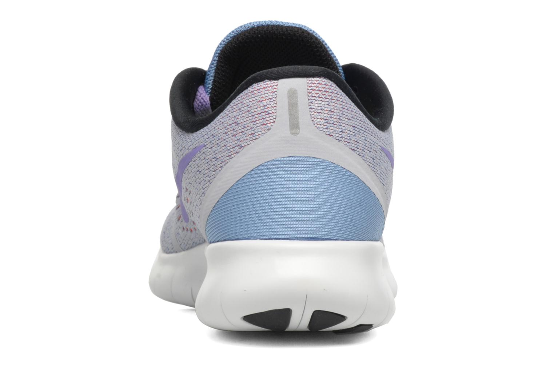 Wmns Nike Free Rn Wolf Grey/Purple Earth-Work Blue