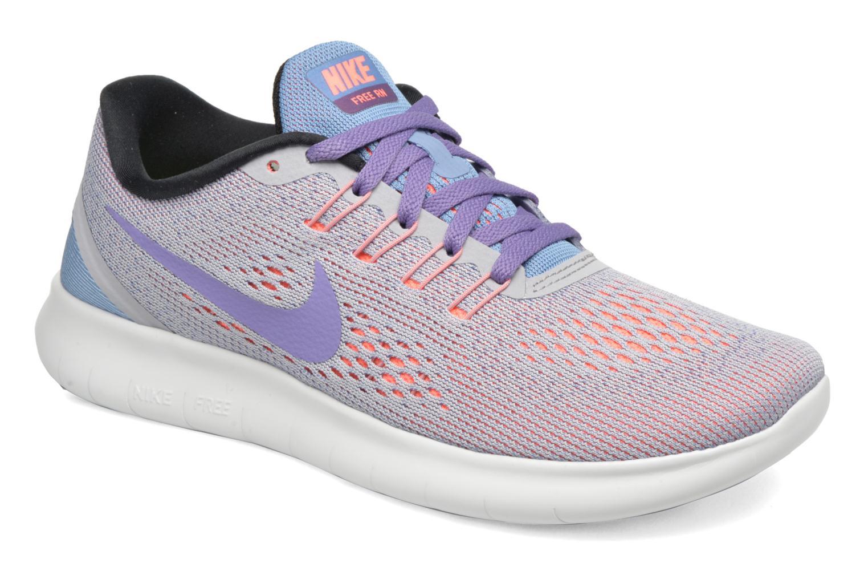Zapatillas de deporte Nike Wmns Nike Free Rn Gris vista de detalle / par