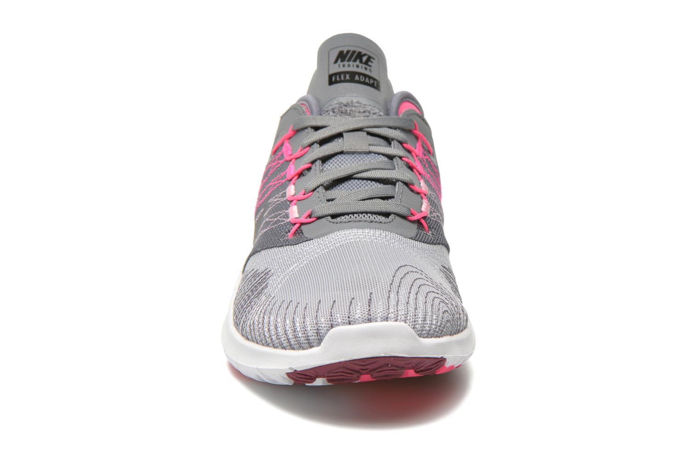 Chaussures de sport Nike Wmns Nike Flex Adapt Tr Gris vue portées chaussures
