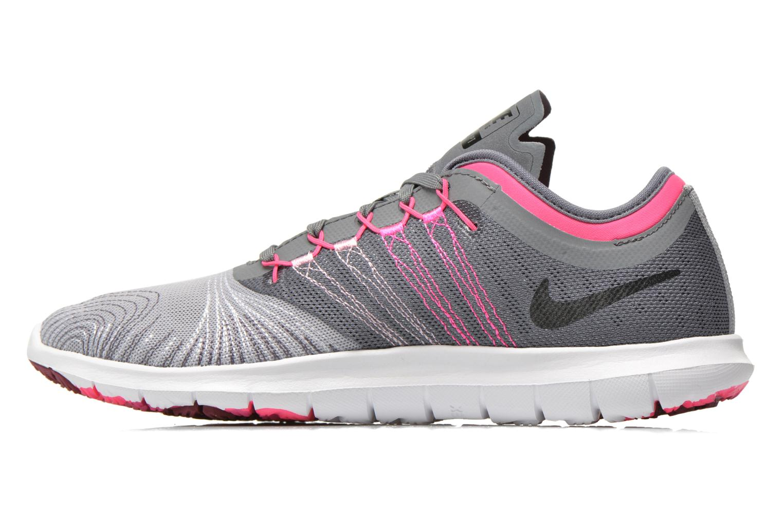 Chaussures de sport Nike Wmns Nike Flex Adapt Tr Gris vue face