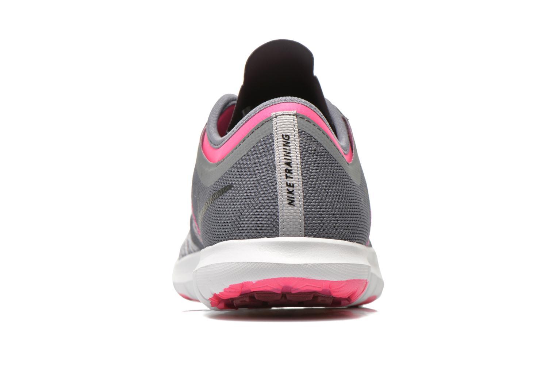 Chaussures de sport Nike Wmns Nike Flex Adapt Tr Gris vue droite
