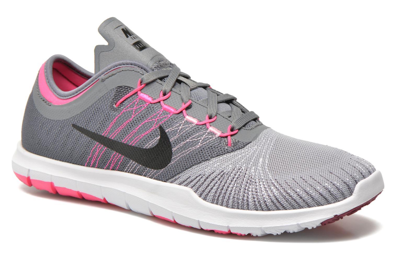 Chaussures de sport Nike Wmns Nike Flex Adapt Tr Gris vue détail/paire