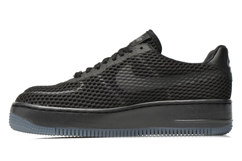 Sneaker Nike W Af1 Low Upstep Br schwarz ansicht von vorne