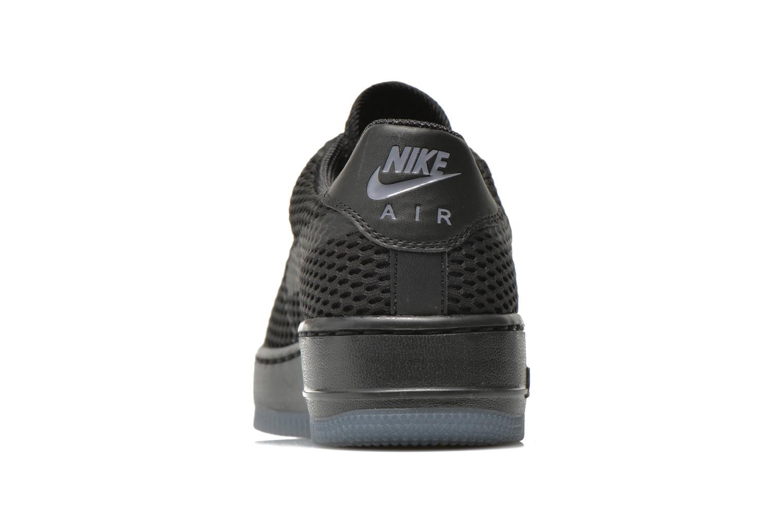 Deportivas Nike W Af1 Low Upstep Br Negro vista lateral derecha