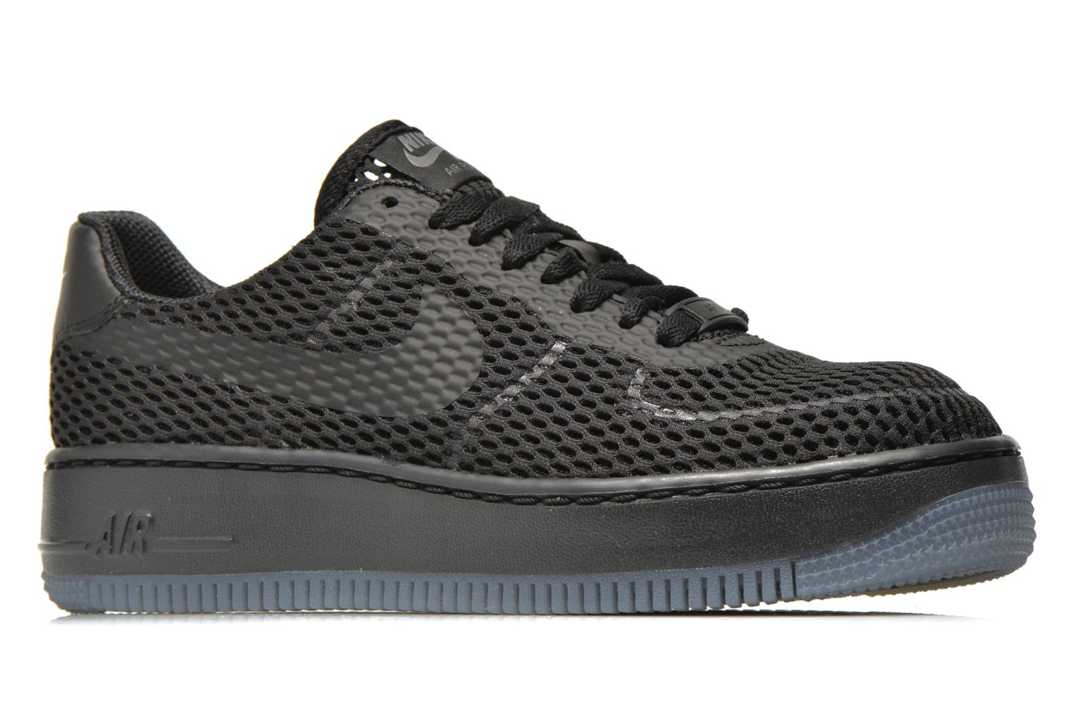 Trainers Nike W Af1 Low Upstep Br Black back view