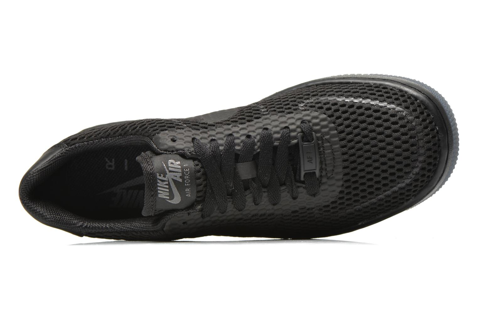 Trainers Nike W Af1 Low Upstep Br Black view from the left