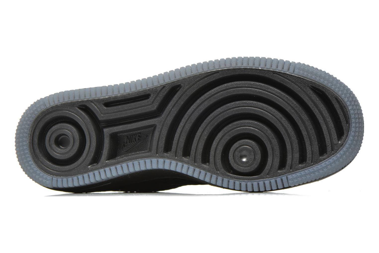 Sneaker Nike W Af1 Low Upstep Br schwarz ansicht von oben