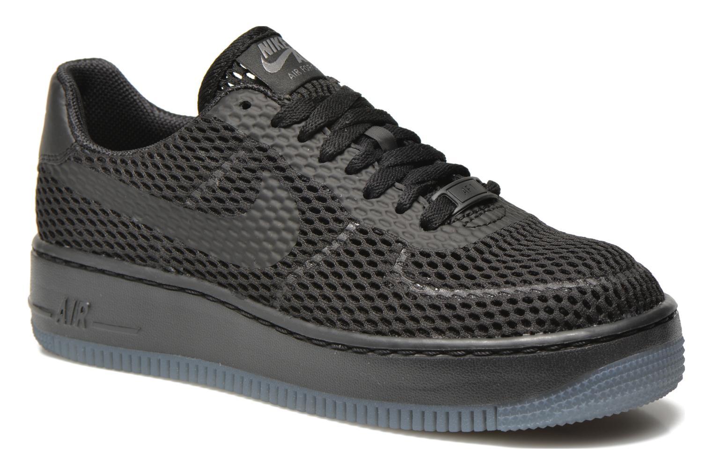 Deportivas Nike W Af1 Low Upstep Br Negro vista de detalle / par
