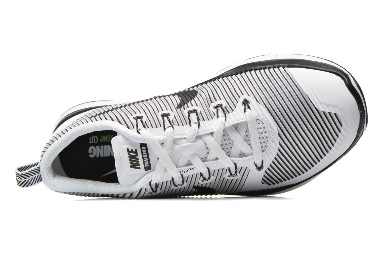 Sportschuhe Nike Nike Free Train Versatility weiß ansicht von links