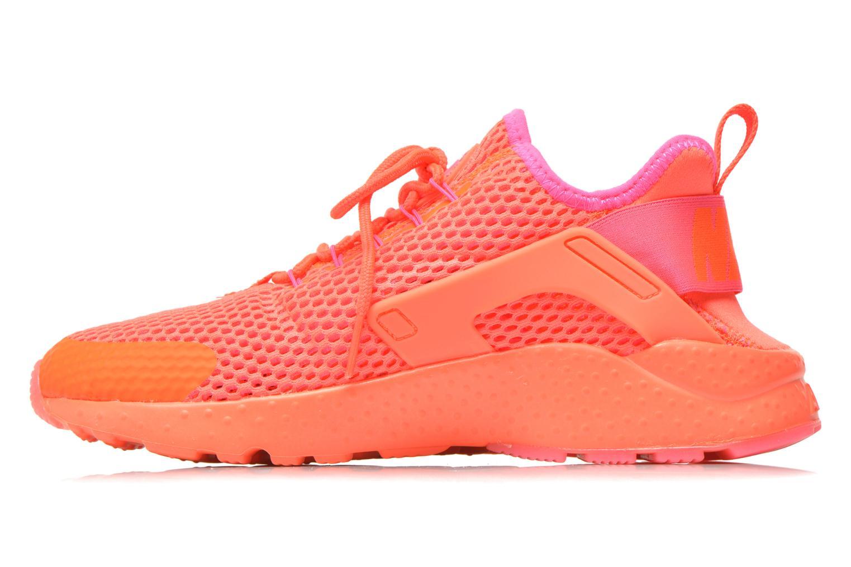 Deportivas Nike W Air Huarache Run Ultra Br Naranja vista de frente