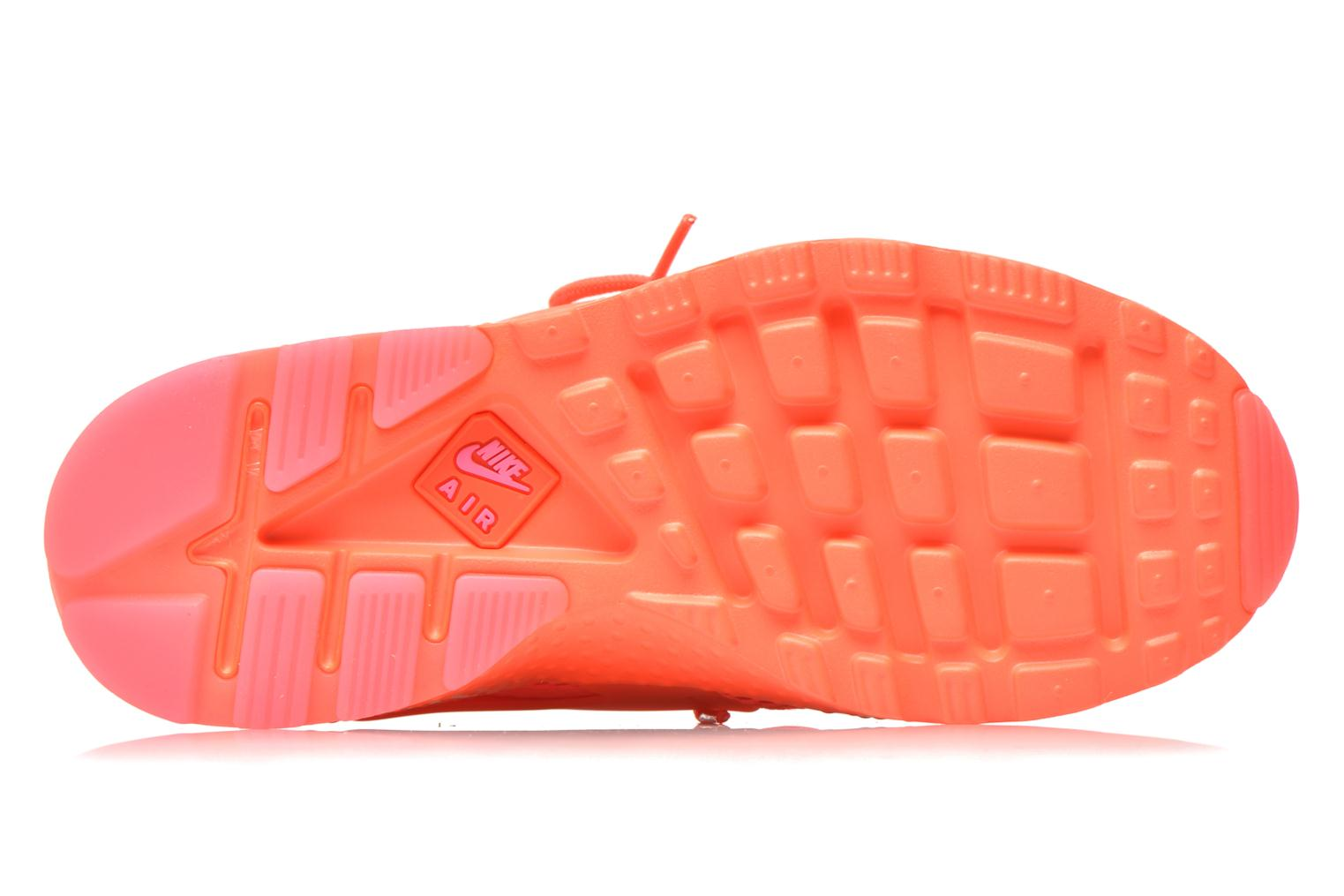 Trainers Nike W Air Huarache Run Ultra Br Orange view from the left