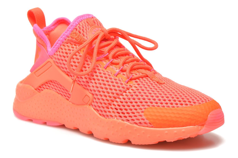 Deportivas Nike W Air Huarache Run Ultra Br Naranja vista de detalle / par