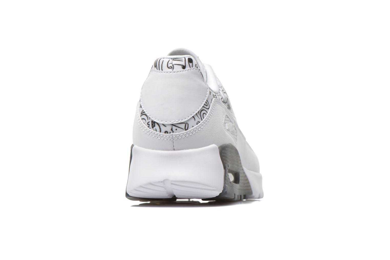 W Air Max 90 Ultra Print White/white-Black